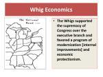 whig economics