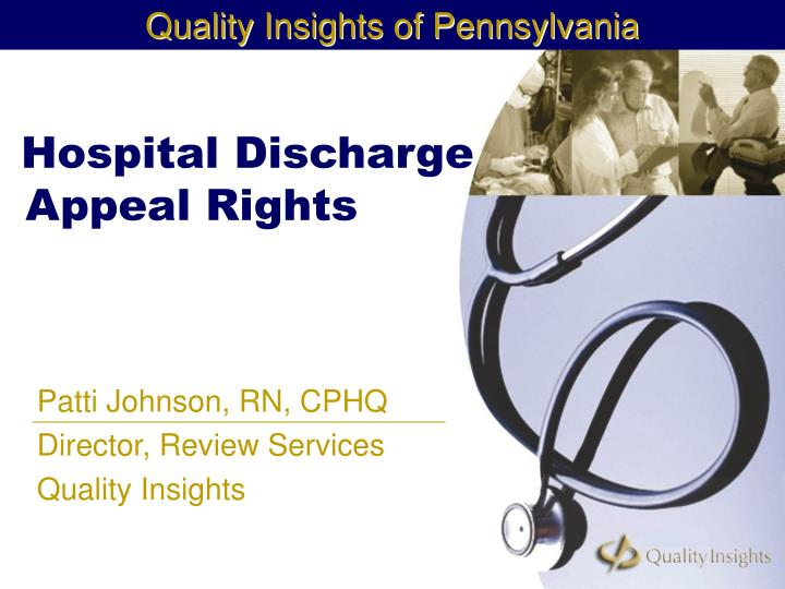 hospital discharge appeal rights n.