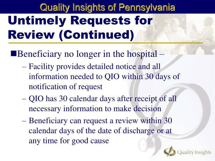 Untimely Requests for Review (Continued)