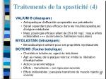 traitements de la spasticit 4