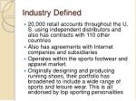 industry defined
