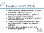 biosafety level 2 bsl 23