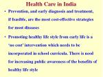health care in india3