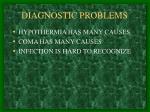 diagnostic problems
