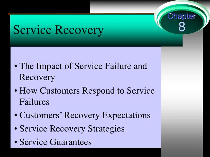 Service recovery essay