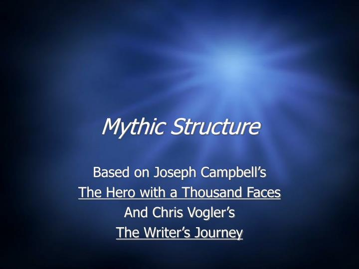 mythic structure n.