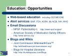 education opportunities ii