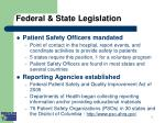 federal state legislation
