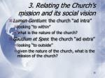 3 relating the church s mission and its social vision