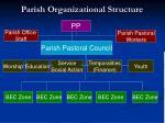 parish organizational structure