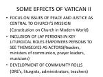 some effects of vatican ii1