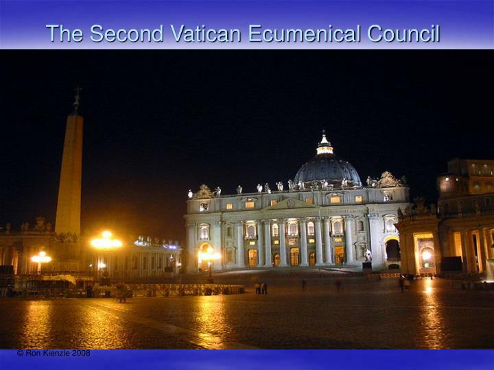 the second vatican ecumenical council n.