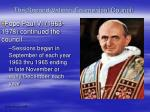 the second vatican ecumenical council17