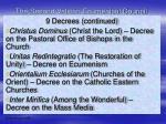 the second vatican ecumenical council23