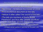 the second vatican ecumenical council35