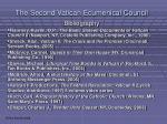 the second vatican ecumenical council46