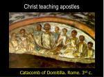 christ teaching apostles