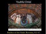 youthful christ