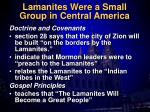 lamanites were a small group in central america