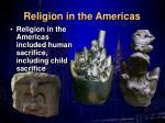 religion in the americas