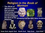 religion in the book of mormon
