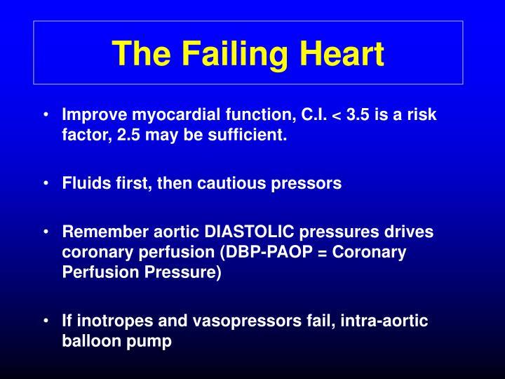 The Failing Heart