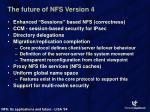 the future of nfs version 4