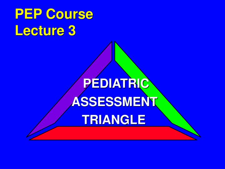 pep course lecture 3 n.