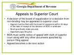 appeals to superior court