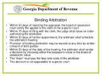 binding arbitration1