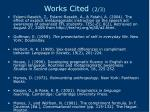 works cited 2 3