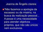 joanna de ngelis clareia