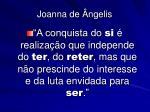 joanna de ngelis