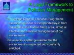 a legal framework to pollution management2