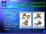 a legal framework to pollution management3