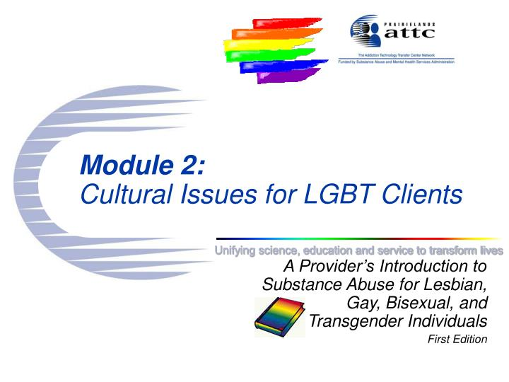 module 2 cultural issues for lgbt clients n.