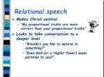 relational speech1