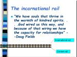the incarnational rail