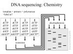 dna sequencing chemistry1