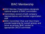biac membership
