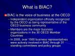 what is biac