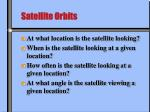 satellite orbits1