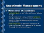 anesthetic management2