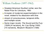 william faulkner 1897 1962