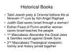 historical books2