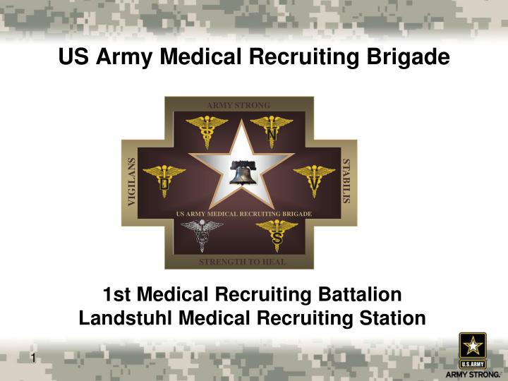 us army medical recruiting brigade n.