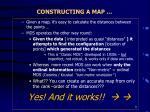 constructing a map