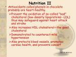nutrition ii