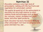 nutrition ii1