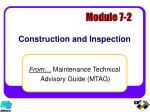construction and inspection